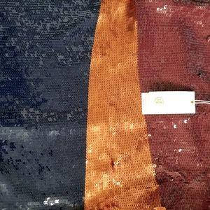 Tory Burch Dresses - TORY BURCH Justine Sequins Colorblock Midi Dress